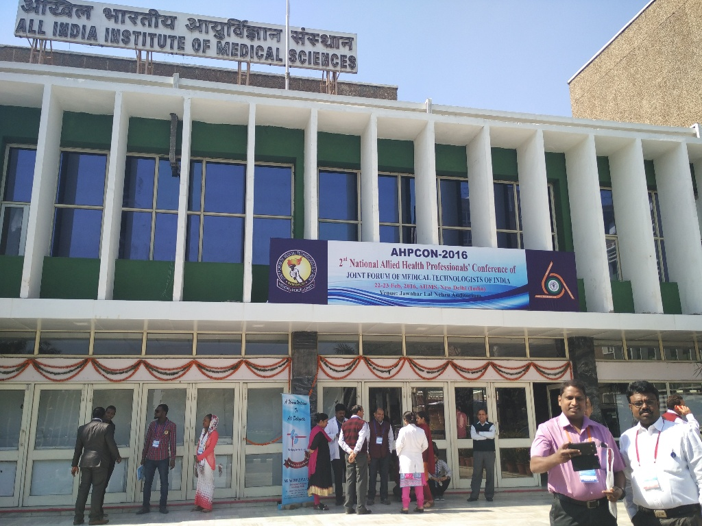 Guest lecture in AIIMS  New Delhi for AHPCON
