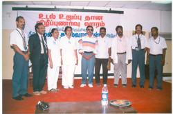 with renowned tamil writer Lena Tamilvanan