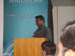 Paper presentation in Bangalore