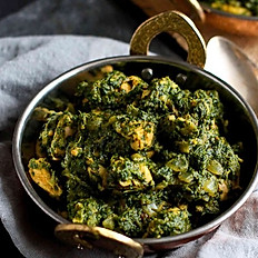 Saag Chicken or lamb