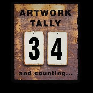artwork tally of Chris Dalvean