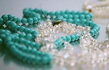 Necklaces Closeup