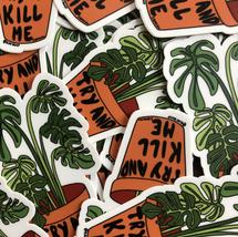 Fiesty Plant Sticker