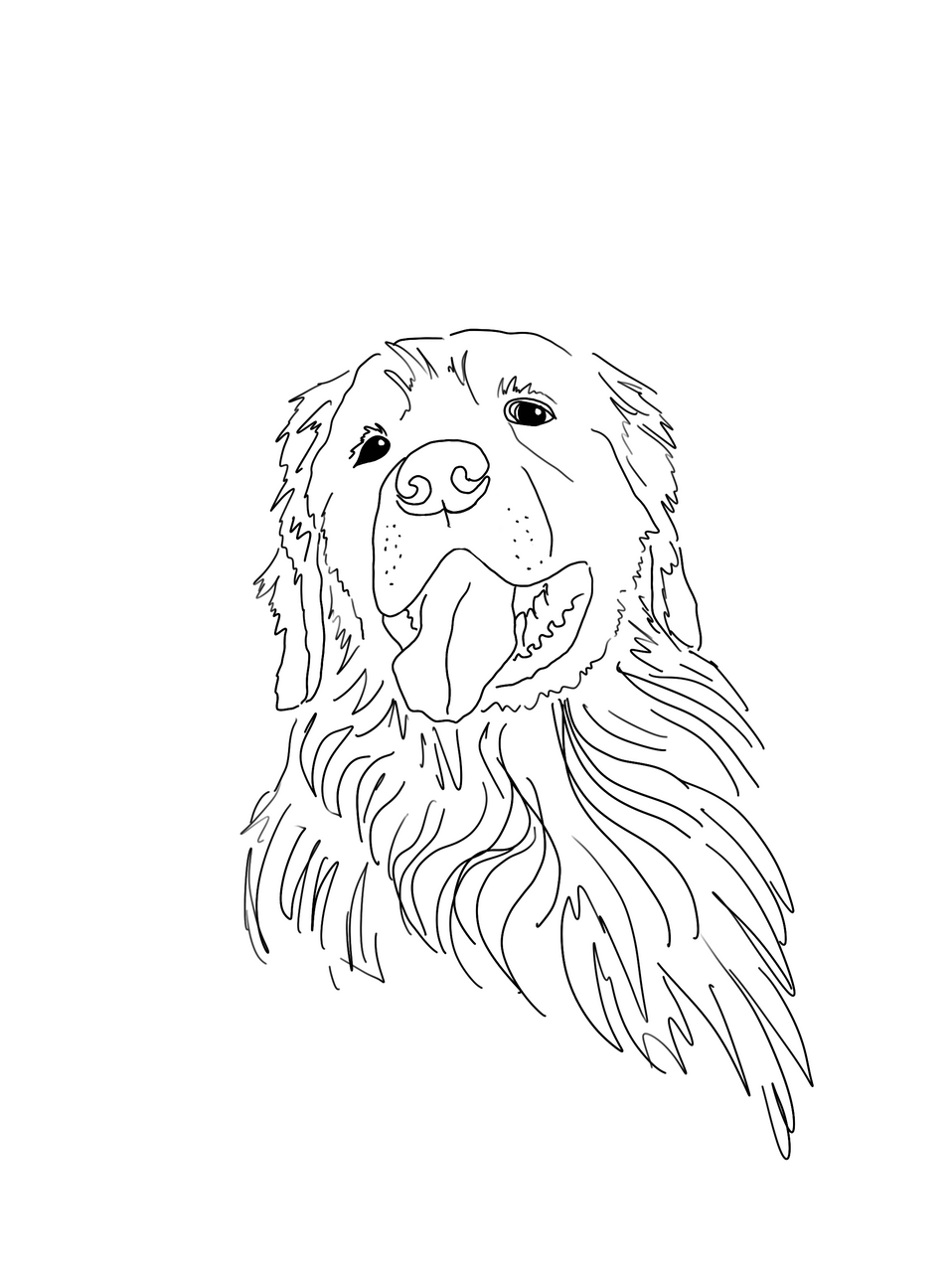 Sometimes I draw Dogs
