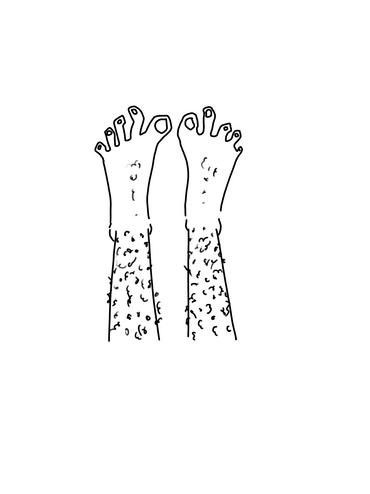 My BFF has Silly Feet
