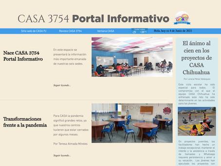 Nuevo portal informativo de CASA