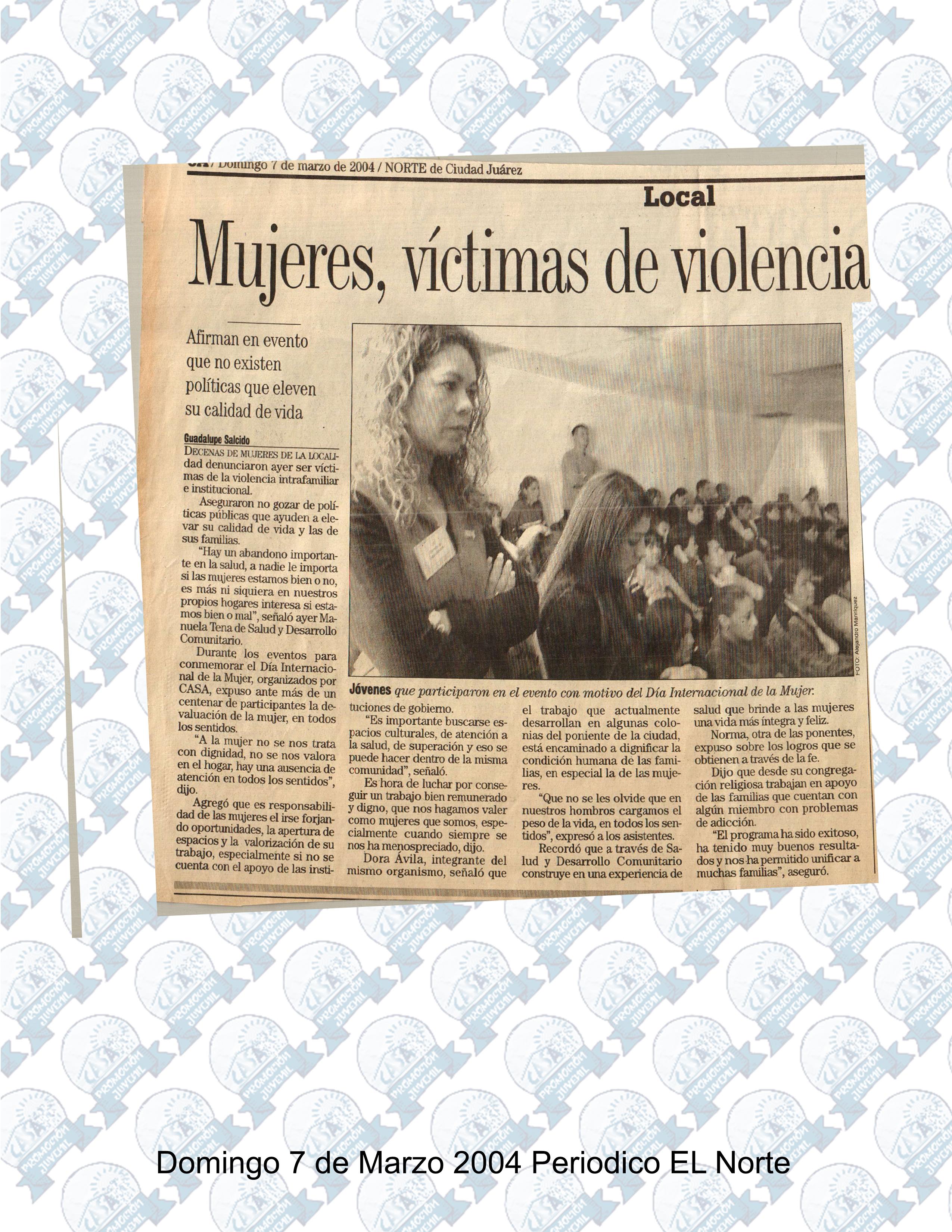 7 marzo 2004