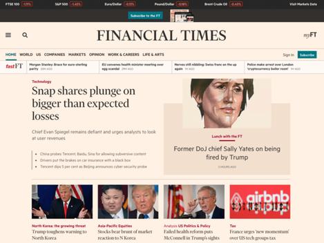 The Financial Times: Democratizando fluxos de trabalho e controlando direitos de imagem