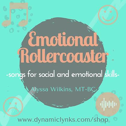 Emotional Rollercoaster Activity Bundle