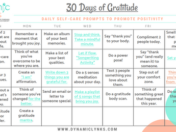 30 Days of Gratitude: 2020 Edition