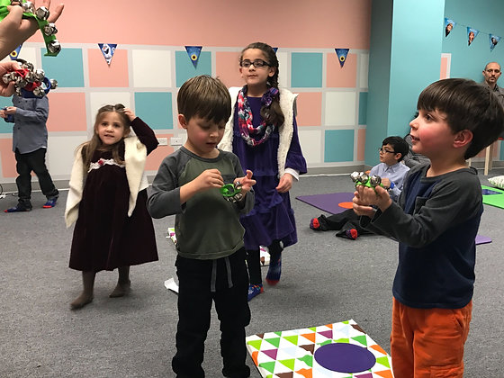 Social Sing & Jam (ages 3-6)