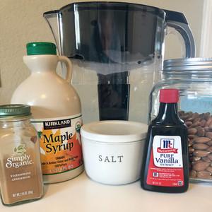 World's Easiest Almond Milk Recipe