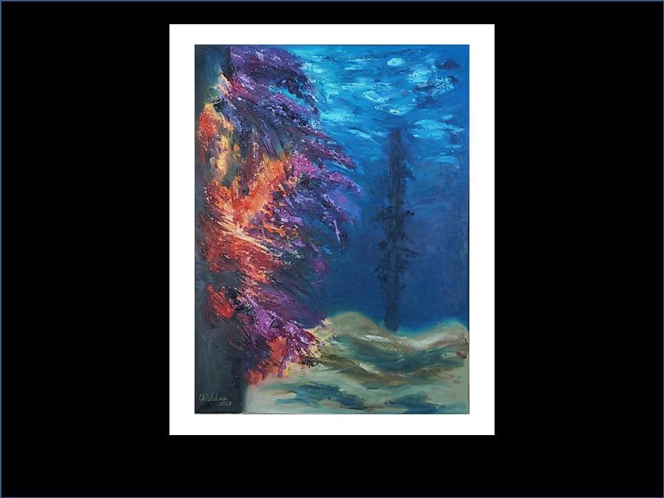 "Underwater Painting ""Soft Corals"""