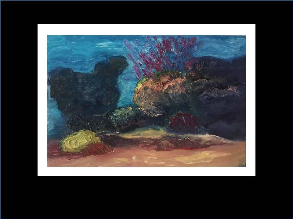 """Underwater Painting""""Tobia Soraya"""""""