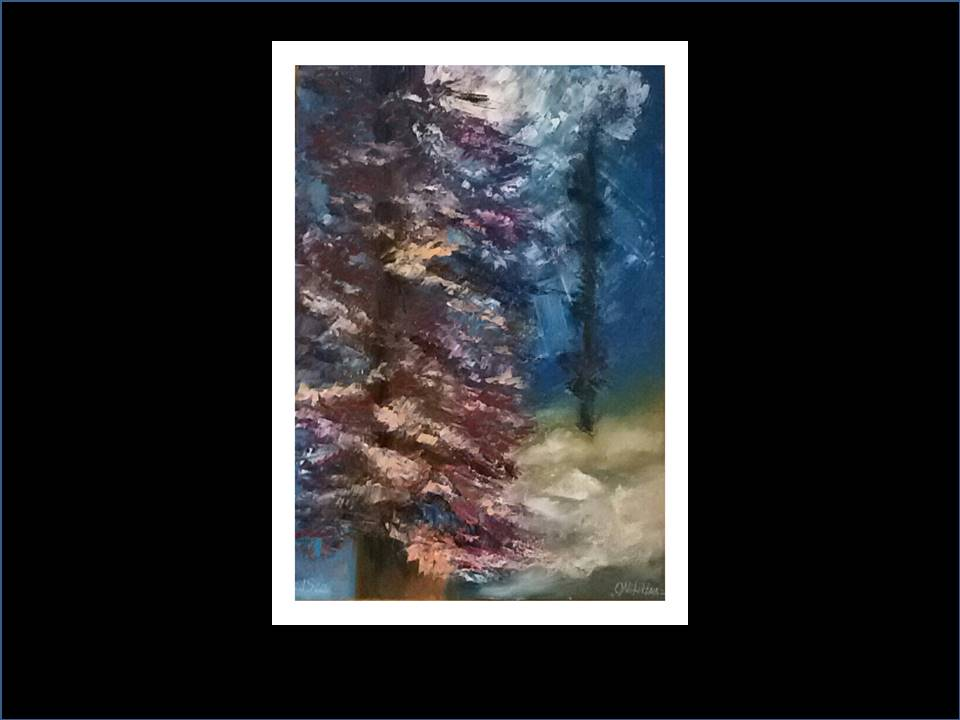 "Underwater Painting ""Forest"""