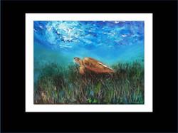 "Underwater Painting ""Henrietta"",2017"
