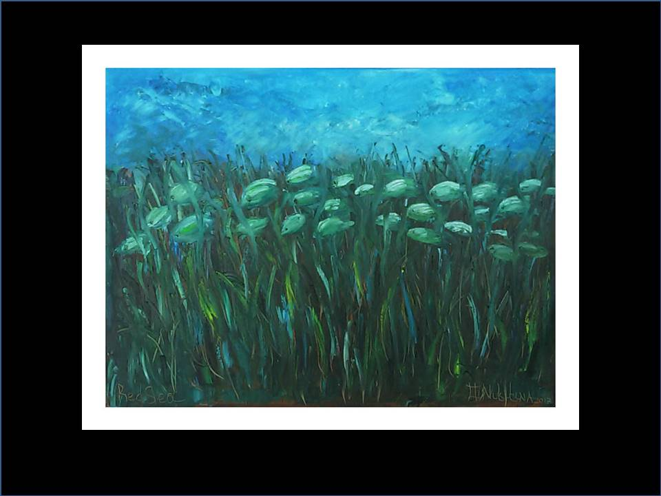 "Underwater Painting ""Marathon"",2017"