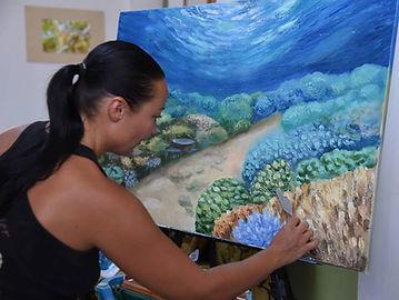 Artist Olga Nikitina
