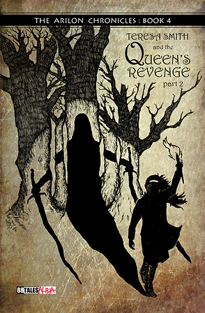 Queen's Revenge - Arilon 4 - 1stEd 1stPr - front cover.png