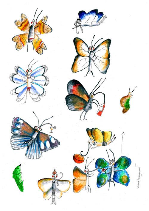 Motýlí studie
