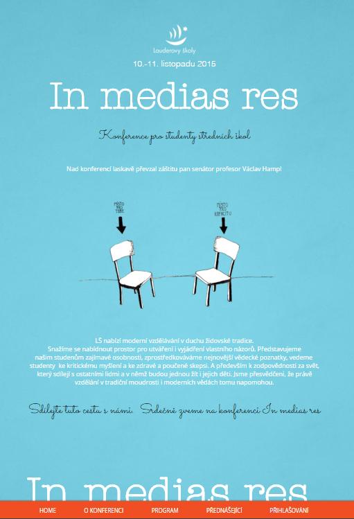 Web konference In medias res
