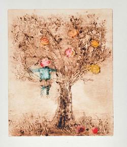 Dívka na jabloni