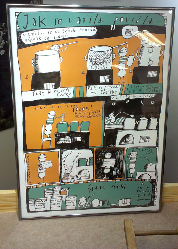 Plakát - Jak se vařila povidla