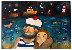 Námořník se svou láskou