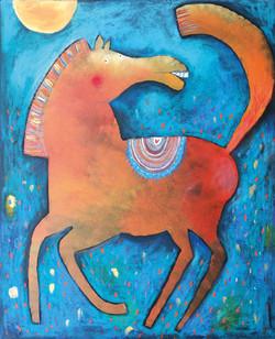 Koník červený