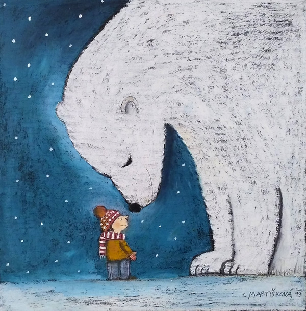 S ledním medvědem