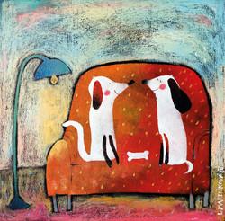 Pejsci na gauči