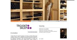 Web -Trojskysklep.cz