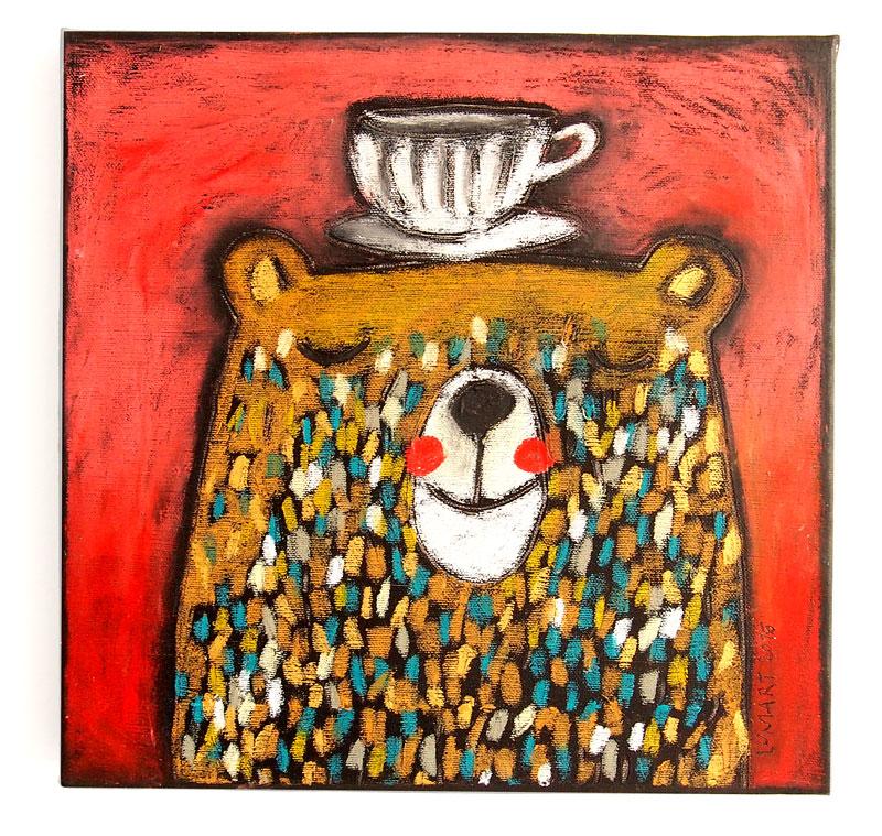 Milovník kávy