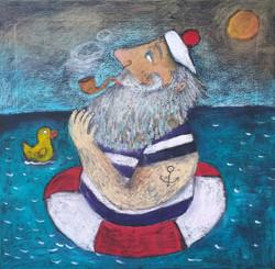 Námořník s kačenkou