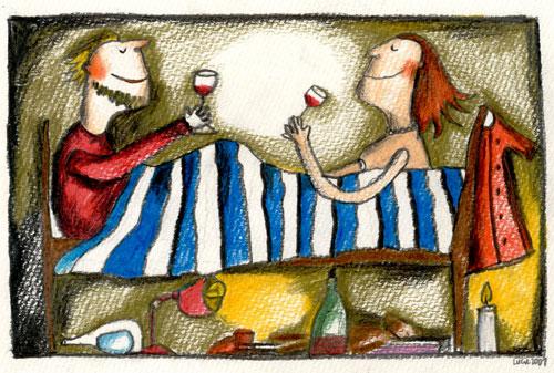 Spolu v posteli