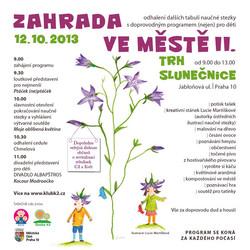 Plakát Zahrada ve městě