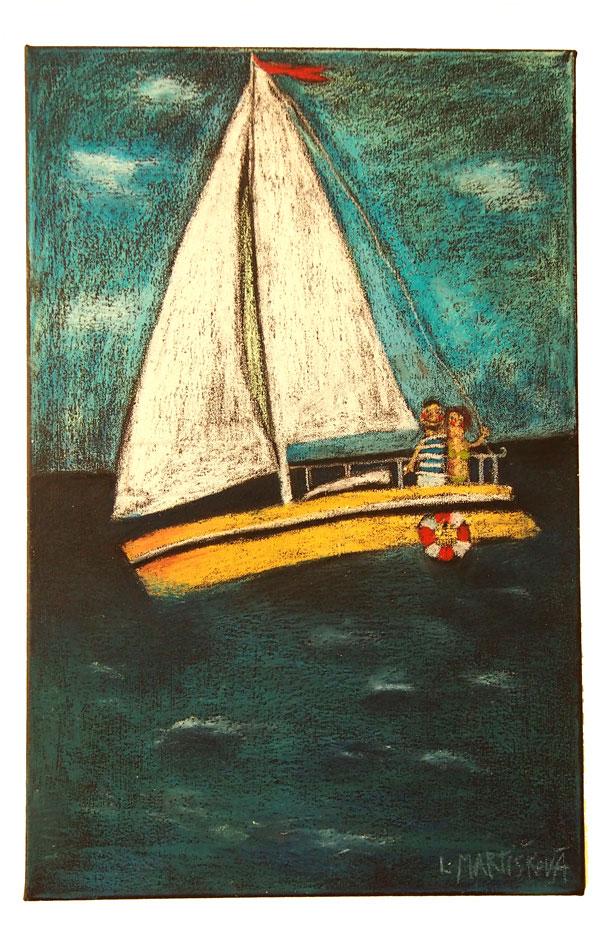 Na jachtě