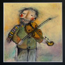 Muž s houslemi