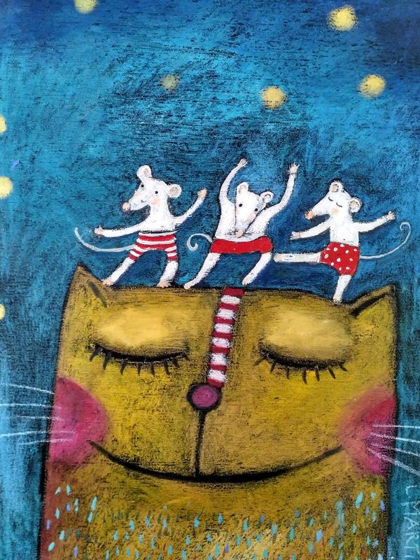 Myšky tanečnice