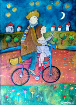 Dva na kole
