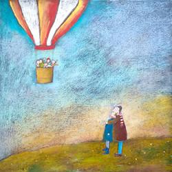 V baloně