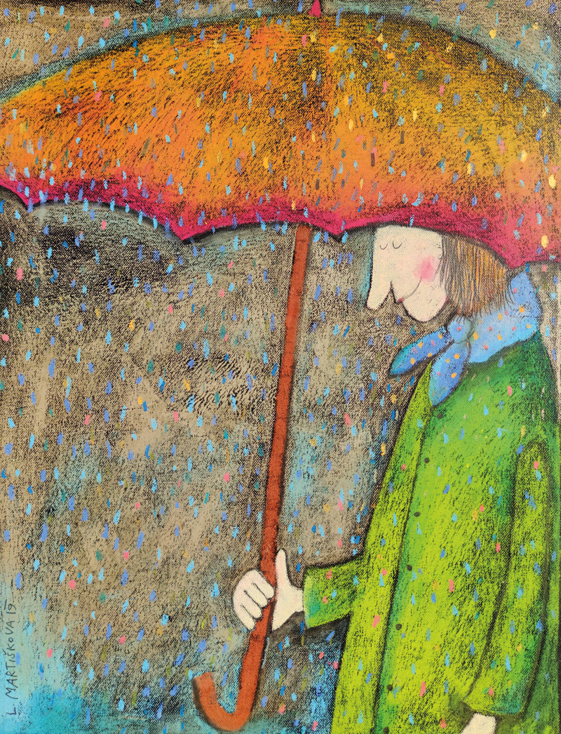V dešti II