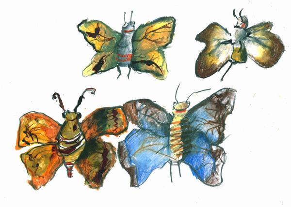 Výstava motýlů Fata Morgana Praha
