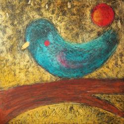 Spící pták