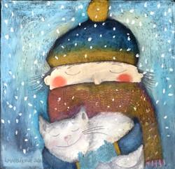 Zima s kočkou III