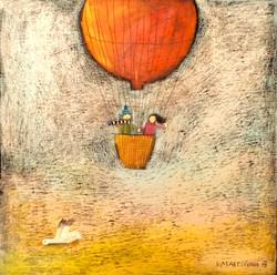 Balon s husou