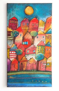 Červené domky