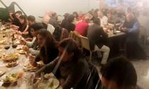 Cena de afiliados del CCD de Paquita Ripoll