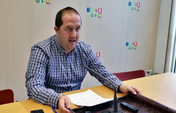 """Rubén Martínez: """"Con el presupuesto prorrogado, las subvenciones a entidades están garantizadas"""""""