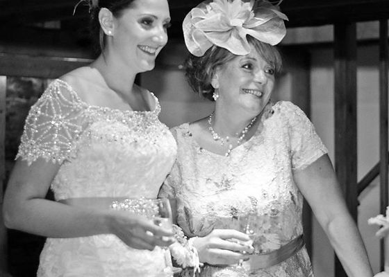 Fiorella Florals Bride and MotherMoter and Bride